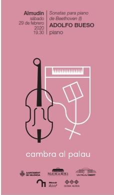 """Adolfo Bueso, recital de piano dins del Cicle """"Sonates per a piano de Beethoven"""""""