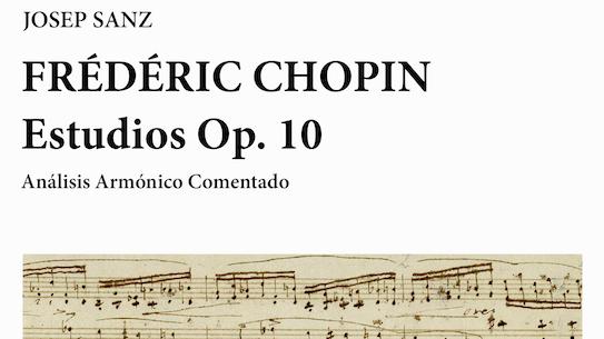 Josep Sanz. Frédéric Chopin: Estudios Op. 10