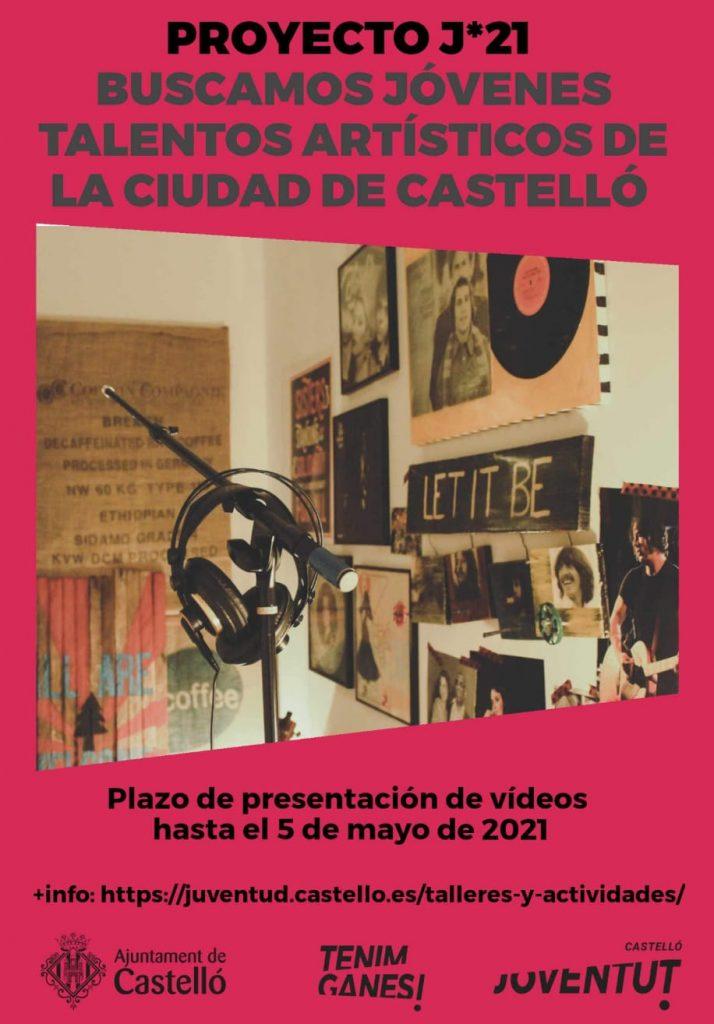 Jóvenes talentos artísticos ciudad de Castellón